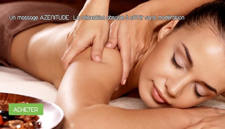 Bon cadeau massage relaxant